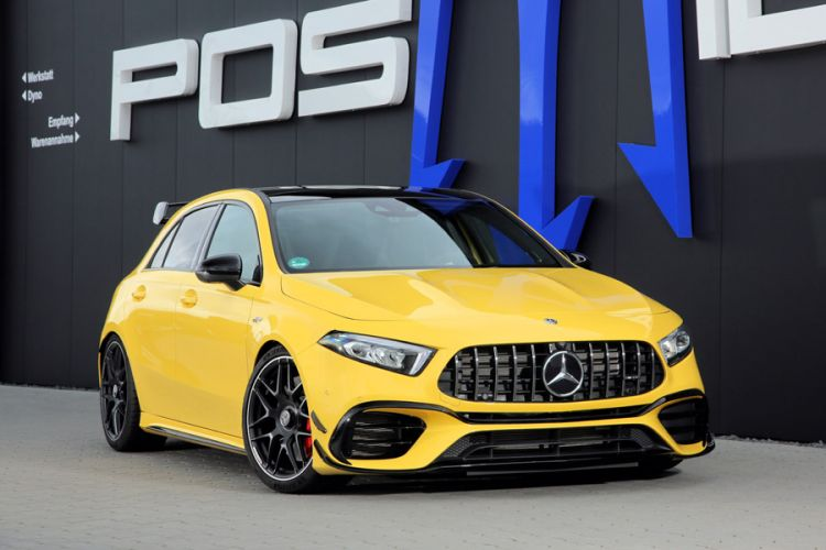 Tuning: 324 km/h schneller Posaidon A 45 RS 525 auf Basis des AMG A 45 S
