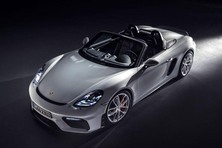 News: Neuer Porsche 718 Spyder und 718 Cayman GT4 mit Sechszylinder-Boxer-Saugmotor