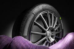 Reifen & Felgen: Serienreifen mit Cokoon-Haftsystem von Continental und Kordsa