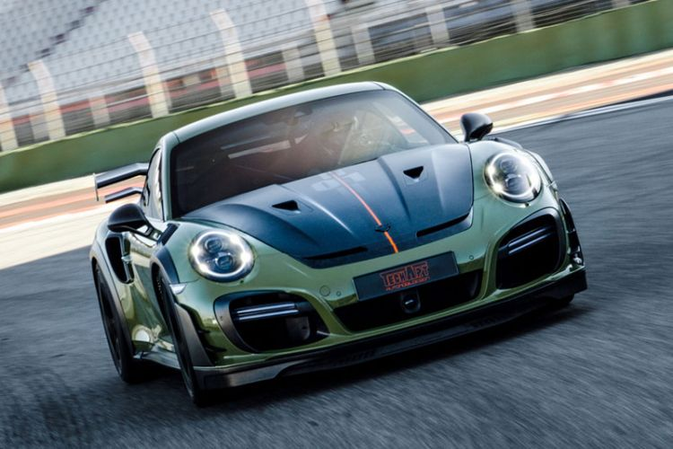 Tuning: Limitierter Techart GTstreet RS auf Basis des Porsche 911 Turbo S