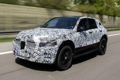 Pressemeldung Mercedes-Benz - EQC voll im Plan auf dem Weg zur Serienreife