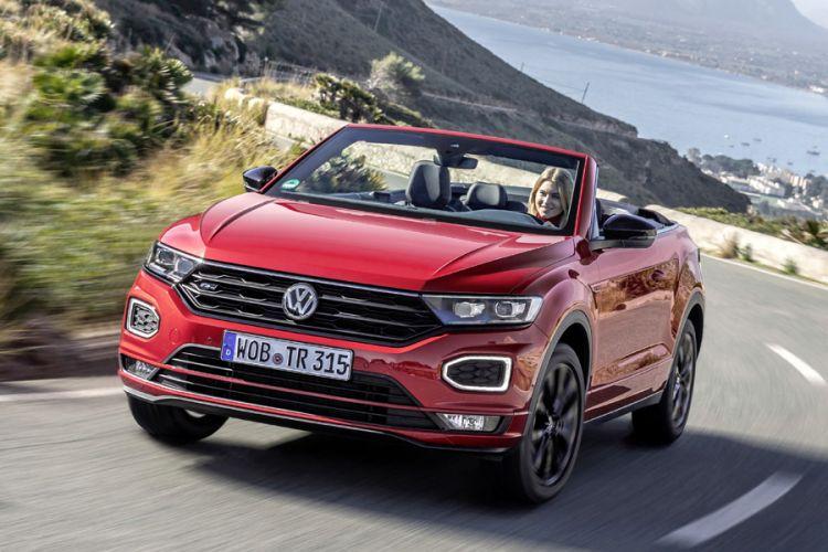 News: Neues VW T-Roc Cabriolet bietet Open Air Vergnügen auf Knopfdruck