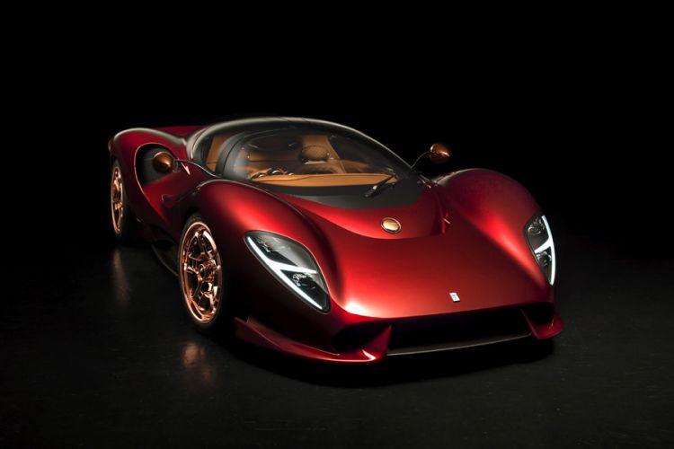 News: Sportwagen De Tomaso P72 geht Ende 2022 in den USA in Produktion