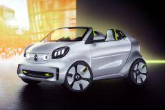 E-Mobil: Offenes smart forease Elektro-Showcar zum 20. Geburtstag der Marke