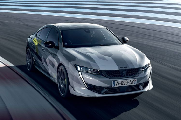 News: Peugeot Concept Car 508 Sport Engineered mit drei Antrieben