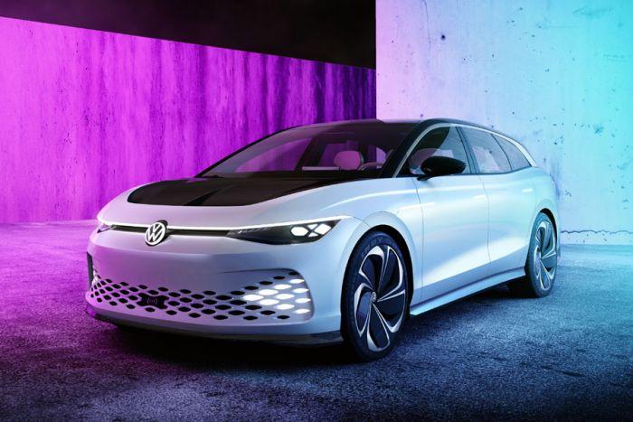 E-Mobil: VW ID. SPACE VIZZION gibt Ausblick auf zukünftigen elektrischen Gran Turismo