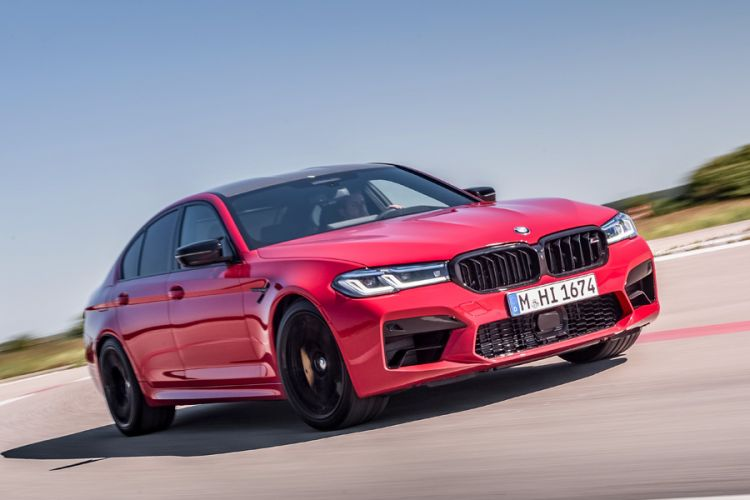 News: BMW überarbeitet High-Performance Limousinen M5 und M5 Competition