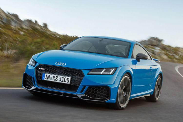 News: Überarbeiteter Audi TT RS Coupé und Roadster mit 400 PS starkem 5-Zylinder