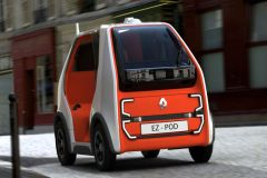 Pressemeldung Renault - Vollautonomer und elektrischer Versuchsträger EZ-POD