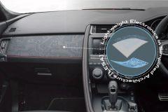 Pressemeldung Jaguar Land Rover - Aufgedruckte Lightweight Electronic im Cockpit