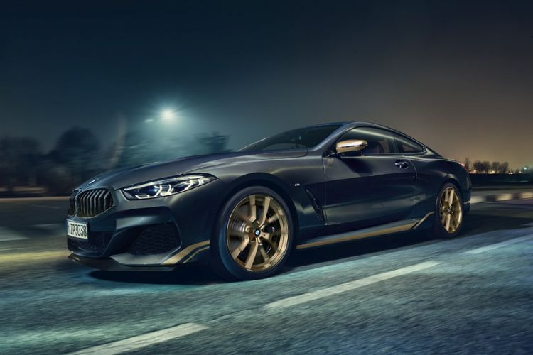 News: BMW 8er Coupé, Cabrio und Gran Coupé als Edition Golden Thunder
