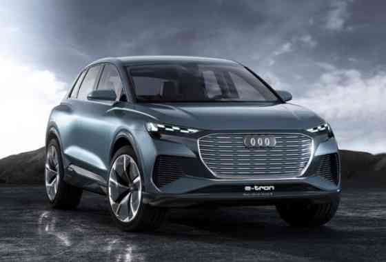 E-Mobil: Audi Q4 e-tron concept mit modularem Elektrifizierungs-Baukasten von VW