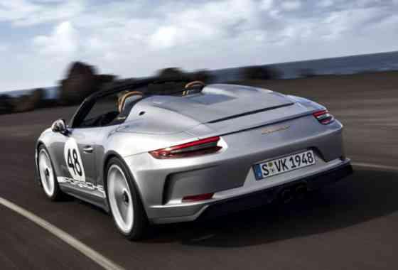 News: Neuer Porsche 911 Speedster geht mit 911 GT3 Technik in Serie