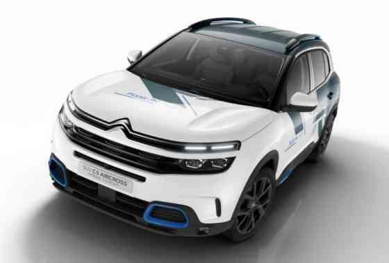 News: Citroen C5 Aircross Hybrid Concept SUV mit 225 PS Systemleistung