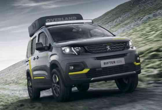 News: Peugeot Rifter 4x4 Concept Outdoor-Van für Freizeit und Reisen