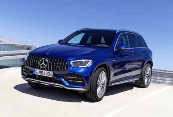 News: Überarbeitete Mercedes-AMG GLC 43 4MATIC SUV und Coupé Modelle