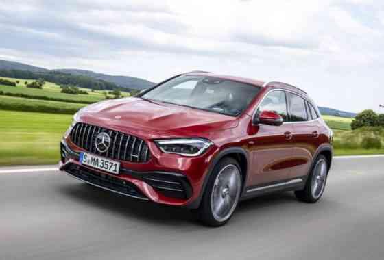 News: Neue AMG A-Klasse Kompakt-SUV GLA 35 4Matic und GLA 45 4Matic+