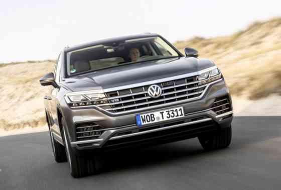News: VW Touareg V8 TDI mit 421 PS starkem Achtzylinder Turbo-Diesel