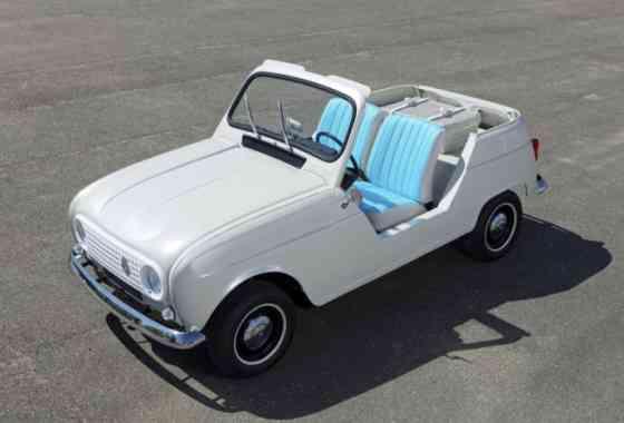 E-Mobil: Renault Klassiker R 4 Plein Air als Showcar mit Twizy E-Antrieb
