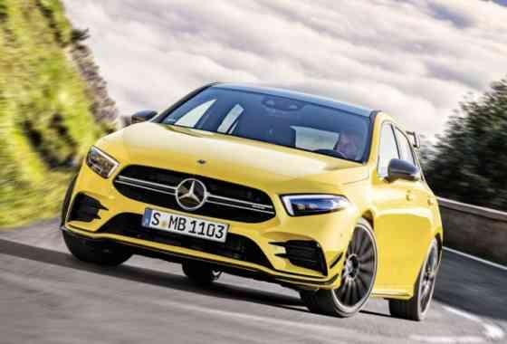 News: Neues AMG Einstiegsmodell A 35 4MATIC mit 306 PS starken Vierzylinder