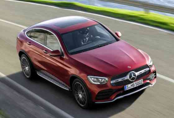 News: Viertüriges Mercedes GLC Coupé folgt dem GLC SUV